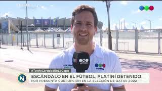 Desde Brasil, Mateo Ferrer analiza el impacto de la detención de Michel Platiní, por presunta corrup