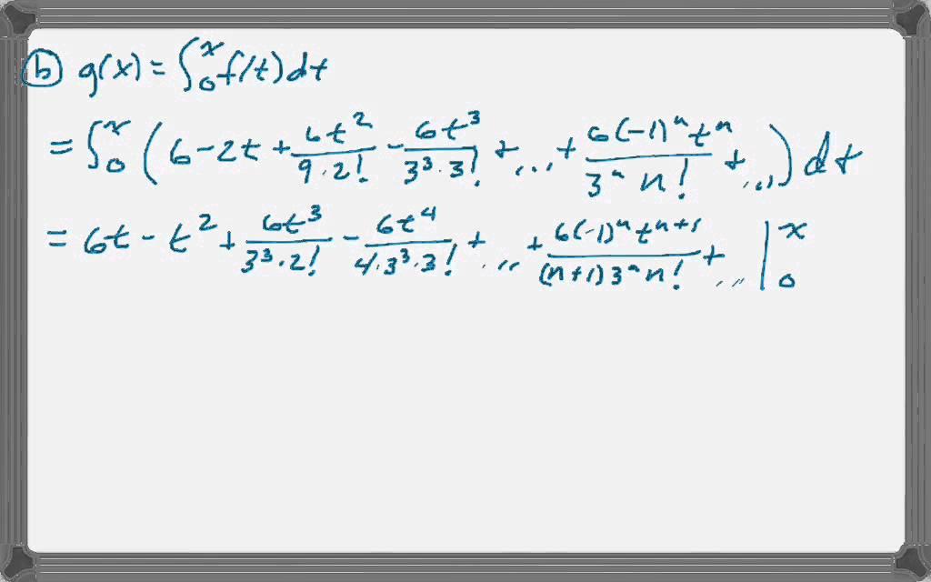 Calc BC 2007 (Form B) FRQ #6 - YouTube
