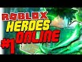 BECOMING THE NEWEST NUMBER 1 HERO! | Roblox: Heroes Online - Episode 1