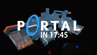 Portal Speedrun — Glitchless in 17:45 (PB)