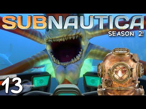 "Subnautica Gameplay S02E13 - ""REAPER LEVIATHAN ATTACK!!!"" 1080p PC"