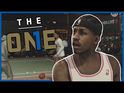 ALLEN IVERSON IN NBA LIVE 18 THE ONE! - NBA Live 18 The One Gameplay