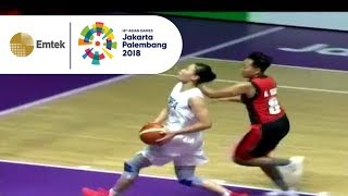 Hasil Pertandingan Basket Putri Indonesia vs Unified Korea   Gempita Asian Games 2018
