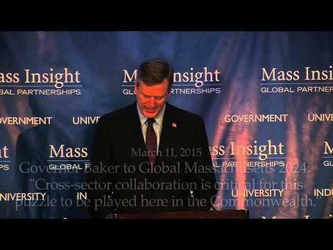 Governor Baker Delivers Keynote Remarks at Global Massachusetts 2024