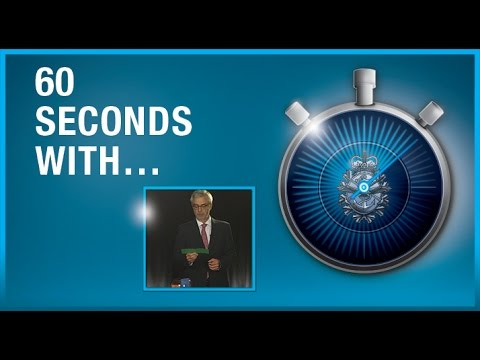 60 seconds with Dr Marc Fortin
