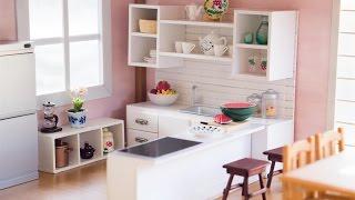 DIY Dollhouse - Miniature Kitchen for Nendoroid, Dolls & Action Figures