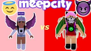 ROBLOX GOOD ANGEL vs BAD ANGEL!!! (MEEPCITY-AKTUALISIERUNG)
