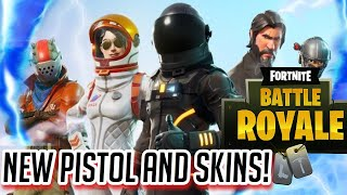 BRAND **NEW** HAND CANNON PISTOL GAMEPLAY+NEW SKINS (SEASON 3)🔥- Fortnite: Battle Royale.