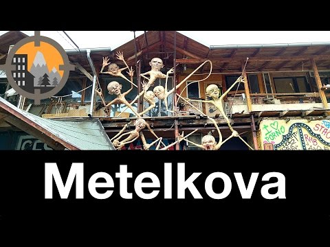 Exploring Metelkova City in Ljubljana, Slovenia