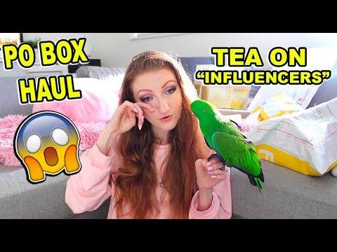 PO BOX HAUL + UNBOXING!! PR Makeup, Play Button & Fanmail   Pretty Pastel Parcels #3