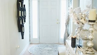ENTRYWAY DECORATING IDEAS|DECORATE WITH ME 2019