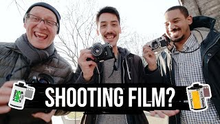 FIRST TIME shooting Street on Film! (Analog POV)