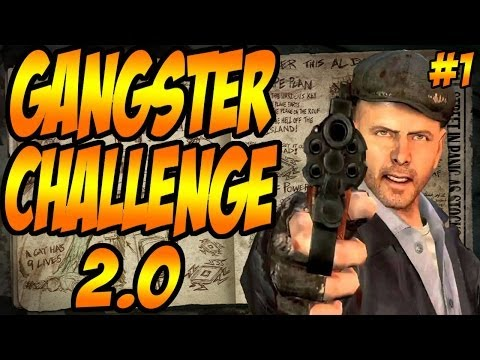 """Gangsta Challenge 2.0 Pt1 """"E3 Talk""""  (Black Ops 2 Zombies Mob of the Dead)"""