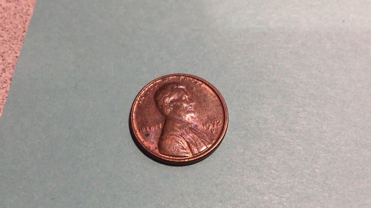 1972 D Penny