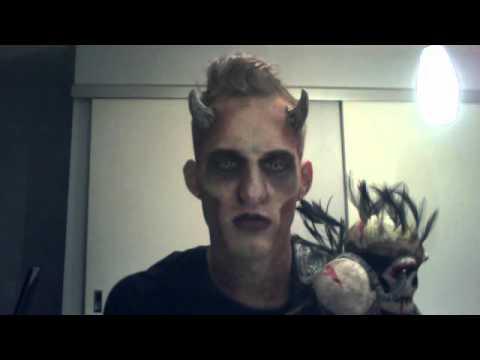 Halloween 2011! Demon Costume  sc 1 st  YouTube & Halloween 2011! Demon Costume - YouTube