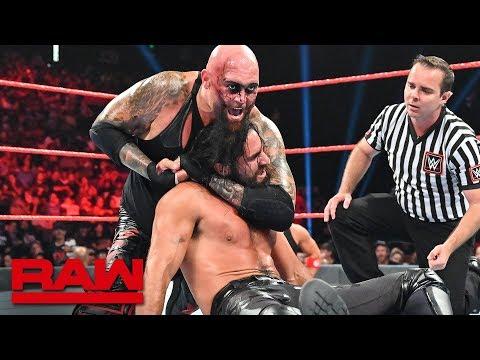 Seth Rollins & Braun Strowman vs  Gallows & Anderson: Raw