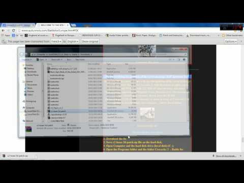 Cossacks 2 Windows 7/Vista Fix