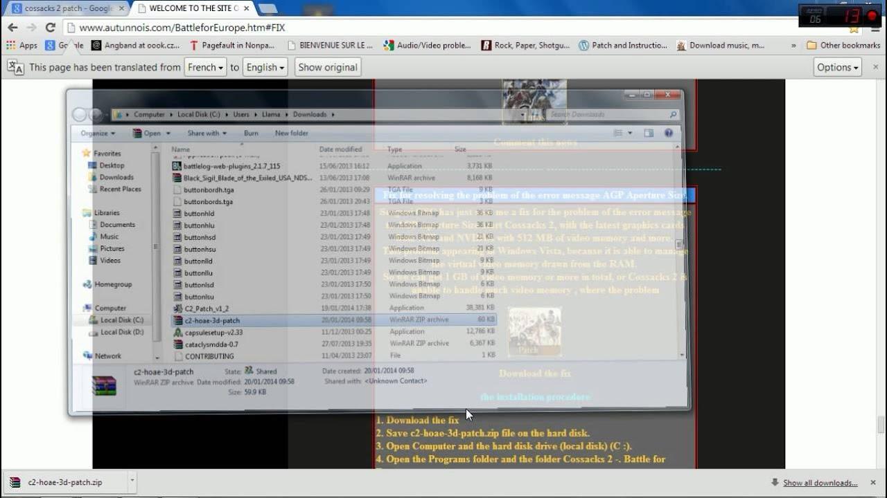 cossacks gratuitement pour windows 7