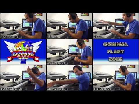 ✔ - SONIC 2 - CHEMICAL PLANT ZONE (Cover / Remake)