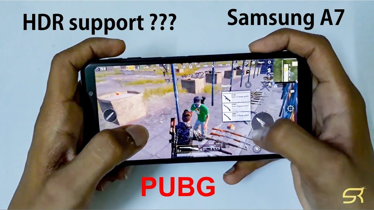 Pubg Hdr Supported Mobile: Samsung Galaxy A7 2018 PUBG Detail Review