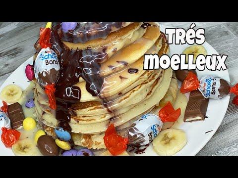 #خليك_فالدار-بانكيك-سهل-وسريع-comment-faire-des-pancakes-super-moeilleux