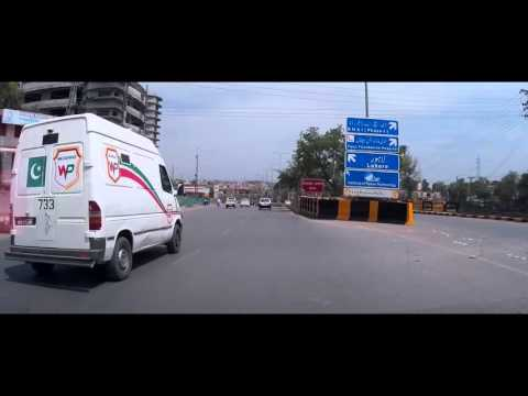 Driving In Pakistan 12 - Rawalpindi to Kharian - Part 1  (25th April 2016)