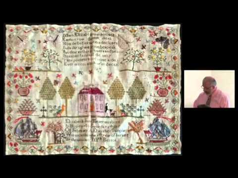 """Peter Larocque, """"Faces in the Fabric?: Self-Portraiture and Women's Textiles"""""""
