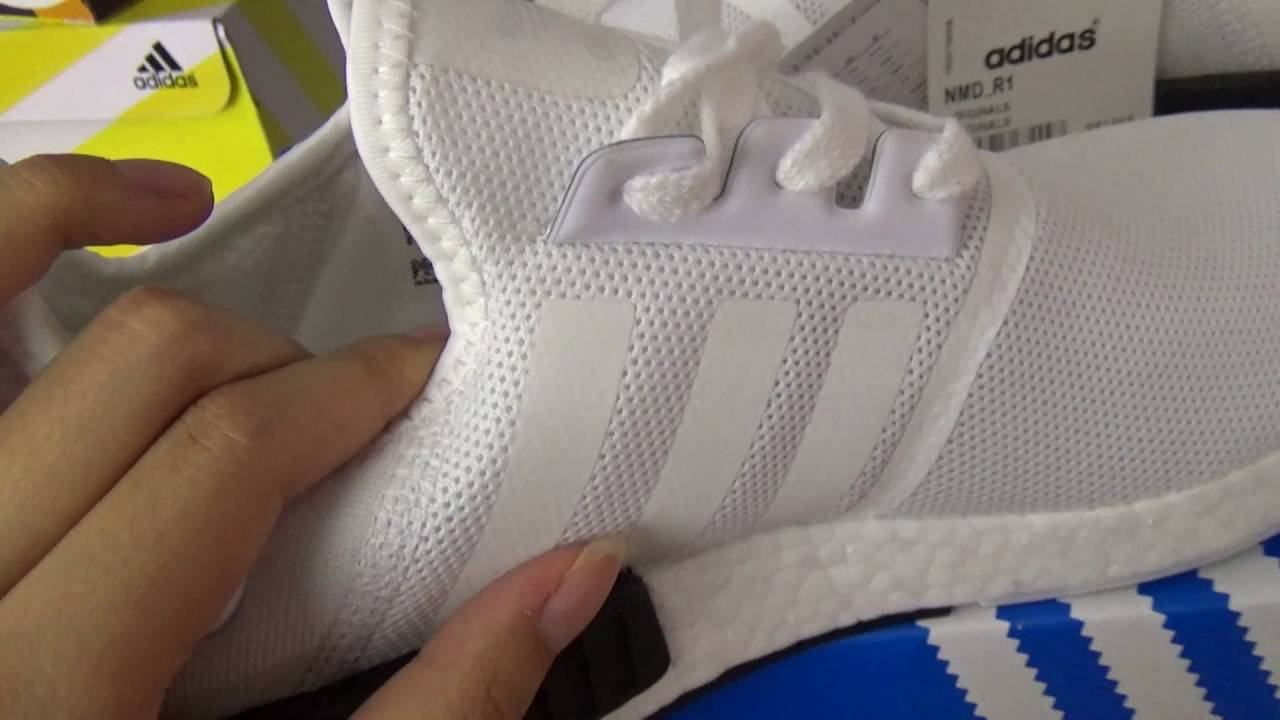 4ca9171bb87c ADIDAS NMD R1 BB1968 unboxing review from goodskick.com - YouTube