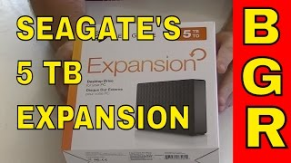 Seagate Expansion 5TB Desktop External Hard Drive USB 3.0 (STEB5000100), Big Guy Review