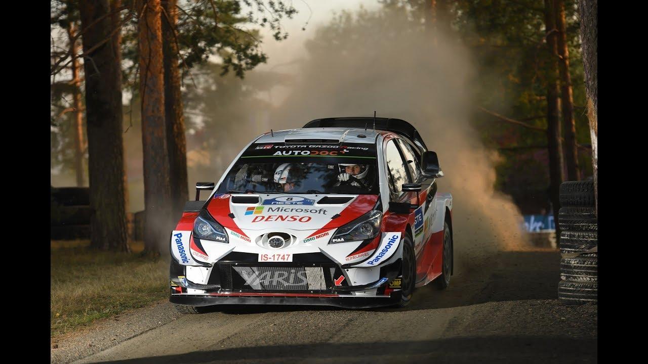 WRC Rally Finland 2019 Service Park Paviljonki Ott Tänak Jari Matti Latvala Kris Meeke Toyota Yaris
