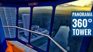 360° Panoramic Tower sunset vi…