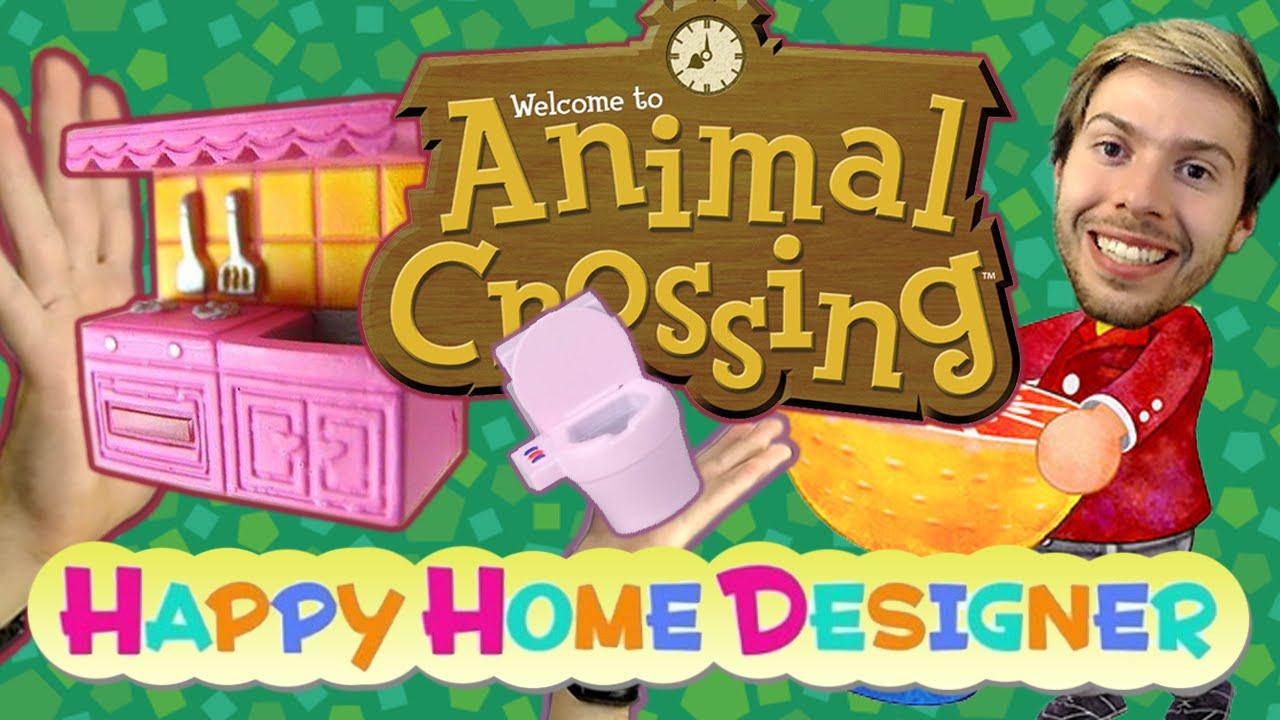 Animal Crossing : Happy Home Designer - TROP DE CŒURS ! - YouTube