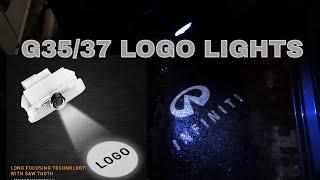 Infiniti G37 Ghost Shadow - Door Lights
