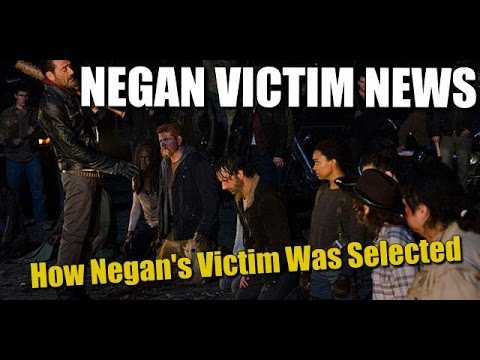 The Walking Dead Season 7 Spoilers Greg Nicotero Reveals How Negan's Victim Was Selected