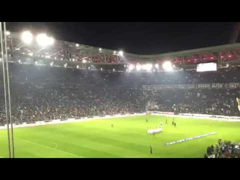 JUVENTUS-ROMA 1-0 - formazioni e ingresso squadre in campo - IL GIORNALE DI ROMA