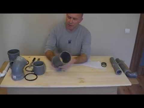 Как укоротить канализационную трубу