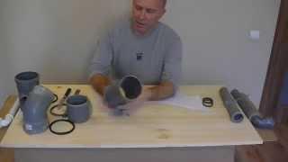 Как отрезать канализационную  трубу(Как отрезать трубу канализационную Отрезать трубу канализационную ровно не сложно Как ровно отрезать..., 2014-12-07T13:12:22.000Z)