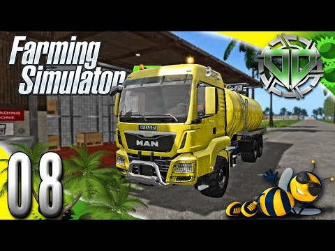 Farming Simulator 2017 Gameplay :EP8: HoneyMilk & New Tanker! (PC Let's Play HD)