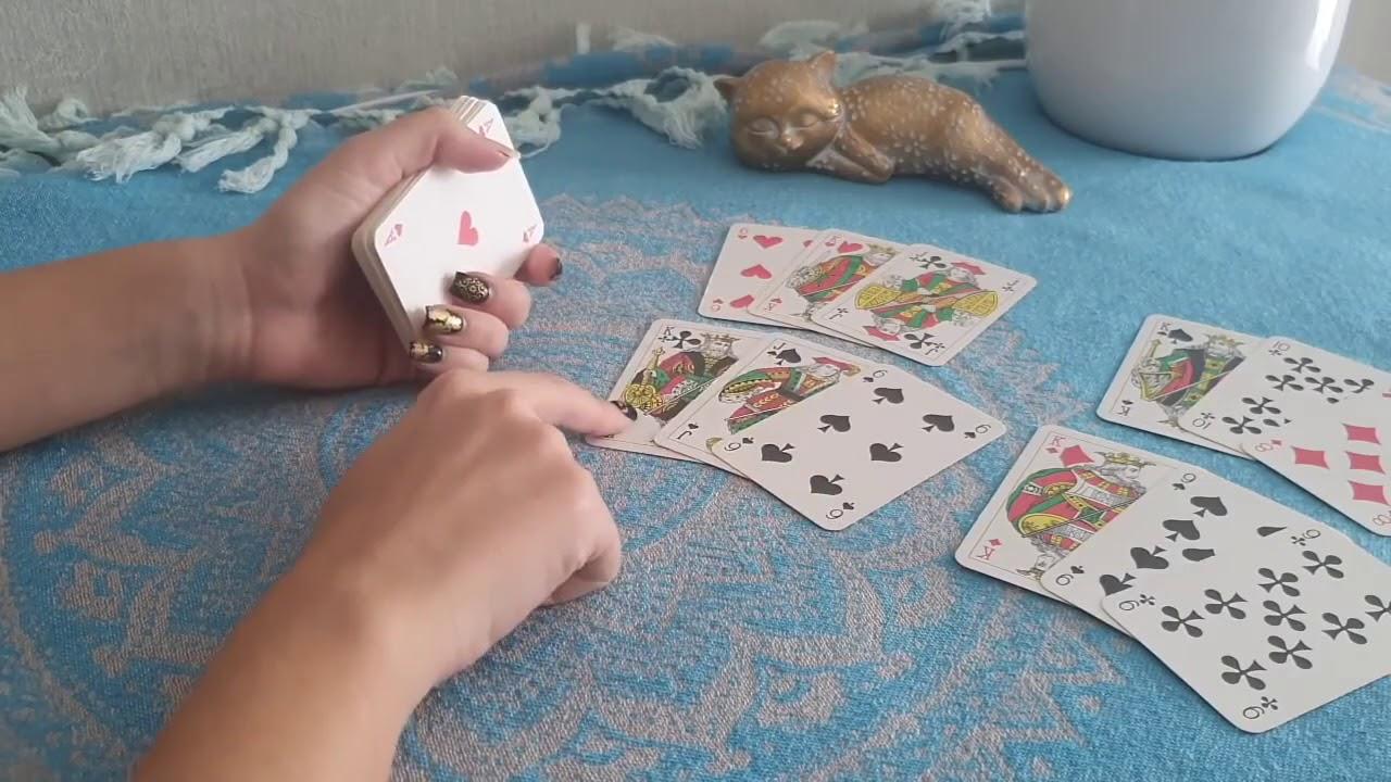 Гадание на 52 картах на короля трактовка игральных карт при гадании видео