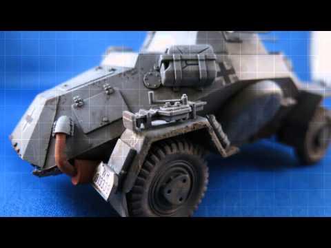 1/35 Tamiya Sd.Kfz. 222 Leichter Panzerspahwagen 4x4
