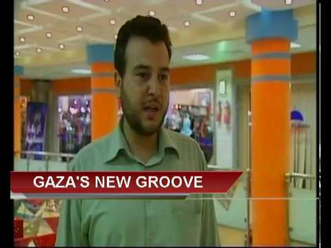 LUXURY and WEALTH abound in Gaza and the Palestinian territoriy SHOPPING MALL