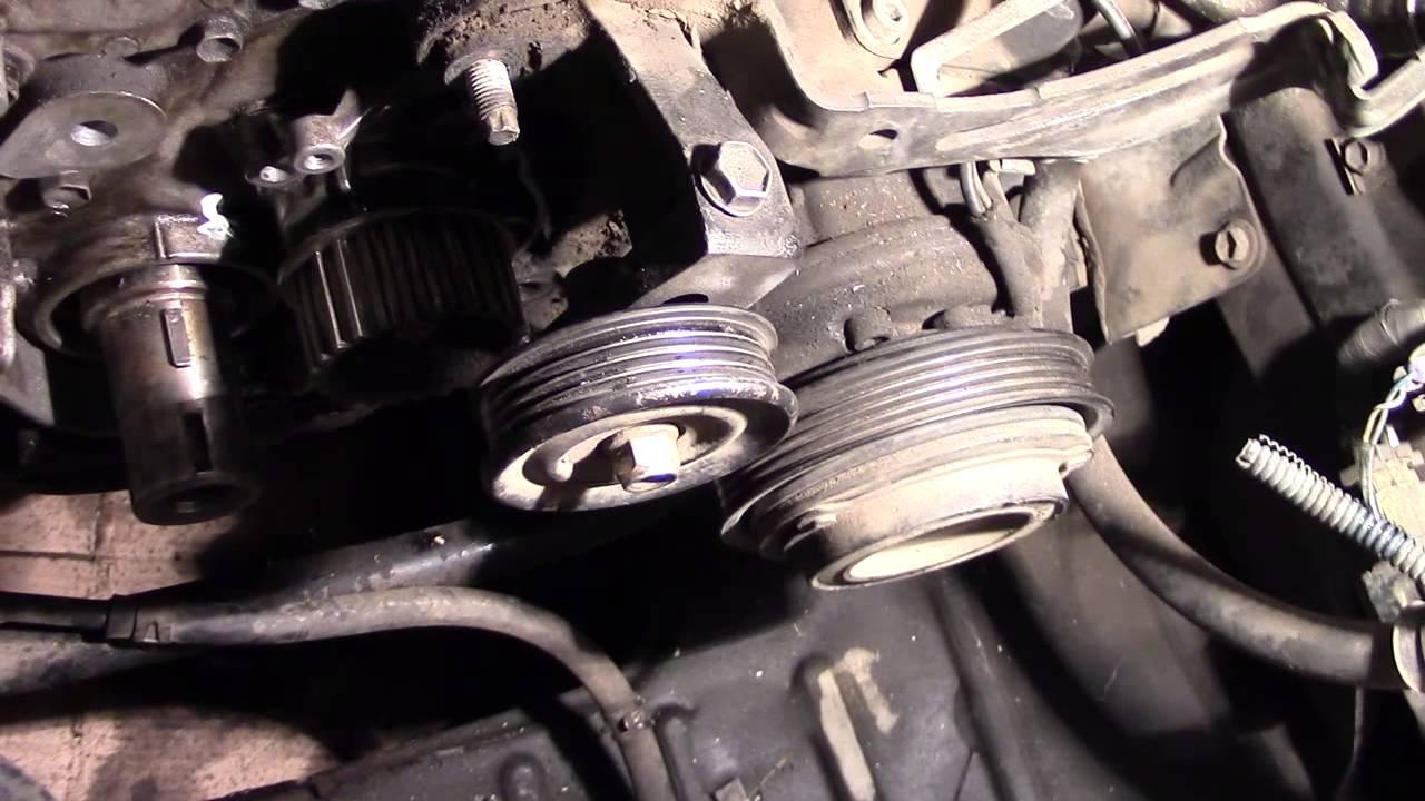 Как снять масляный насос с двигателя 1G-FE BEAMS