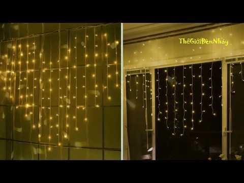 Bộ Đèn hình Trái Tim màu vàng - trang trí phòng cưới