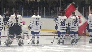 CWHL Toronto Furies game watch 倉田知実選手と鈴木世奈選手の応援に行ってきた