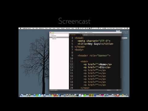CSS-Tricks Screencast #124: A Modern Web Designer's Workflow