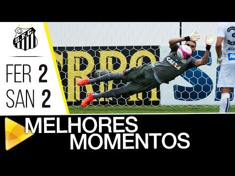 Ferroviaria 2 x 2 Santos | MELHORES MOMENTOS | Paulistão (10/02/18)