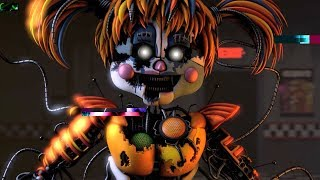 UCN Voice Lines FNAF Characters animated (Scrap Baby, Foxy, Balora & MORE)
