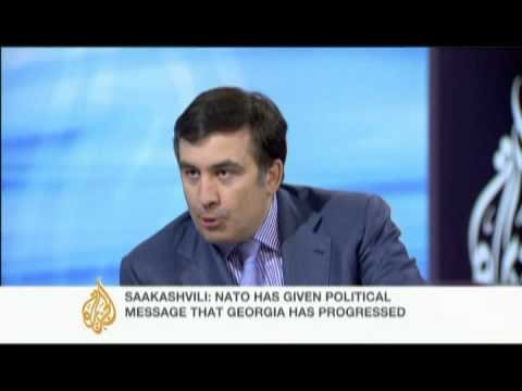 Interview with Saakashvili - 4 Dec 08