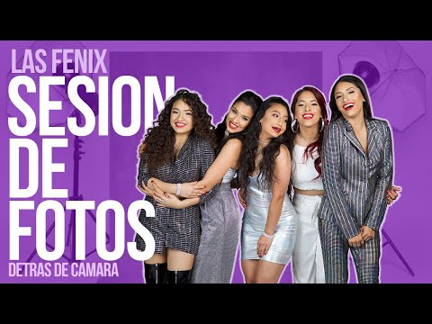Las Fenix - Photoshoot - Detrás de Cámaras (Un Traguito De Tequila)