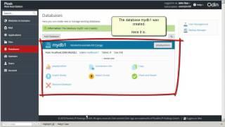 Mysql veritabanı ve kullanıcı oluşturma Plesk 12.5 Rehberler -